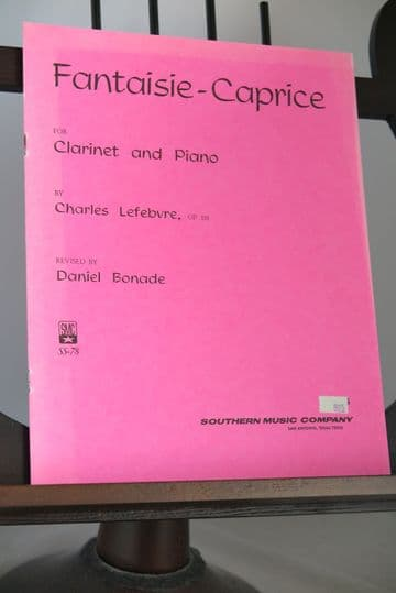 Lefebvre C - Fantaisie-Caprice Op 118 for Clarinet & Piano